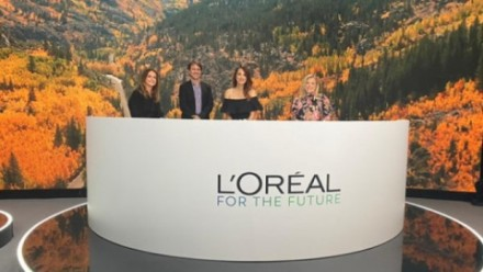 L'Oreal communications director, Christine Burke; War on Waste presenter Craig Reucassel; Science communicator Laura Wells and Natixis managing director, Louise Watson
