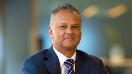 A portrait shot of UniSuper chief investment officer John Pearce.