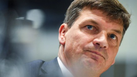 A close-up picture of Energy Minister Angus Taylor.