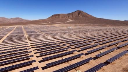 The Bolero Photovoltaic solar farm in Chile