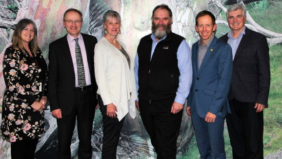 Members of the ACT Climate Change Council with Shane Rattenbury MLA