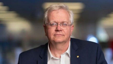 A photograph of ANU Vice-Chancellor Prof Brian Schmidt, smiling and looking towards the camera.