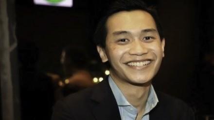 PhD student, Aaron Tang