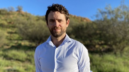 """Climate change is a health emergency,"" says Alice Springs-based Dr Simon Quilty."