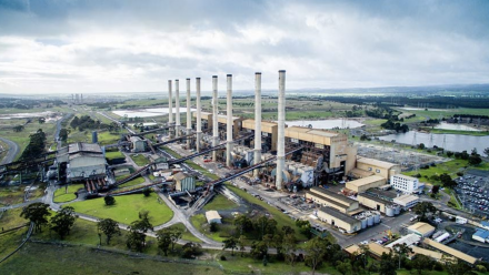 A coal-fired power station in Hazelwood.
