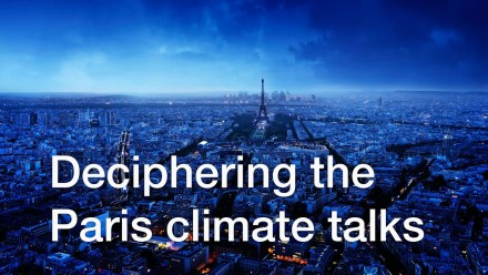 Deciphering the Paris Climate Talks