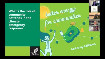 Community batteries