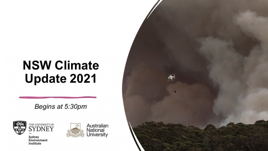 NSW Climate Update 2021