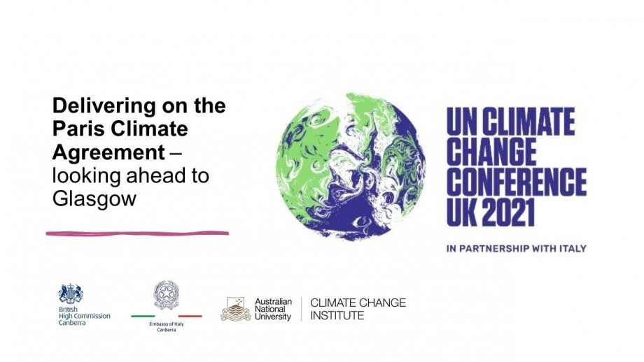 Delivering on the Paris Climate Agreement - looking ahead to Glasgow