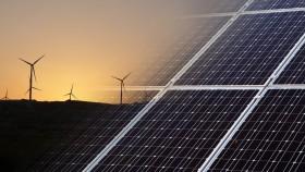 Wind, solar energy